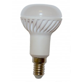 Keramická LED žiarovka E14 16x 5630 6W SMD EPISTAR, teplá biela