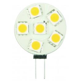 LED žiarovka G4 LS 6×5050 1,2W SMD EPISTAR, teplá biela