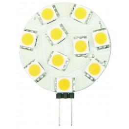 LED žiarovka G4 LR 10×5050 2W SMD EPISTAR, teplá biela