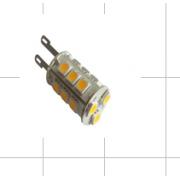 LED žiarovka  G9 18×5050 3W SMD EPISTAR teplá biela