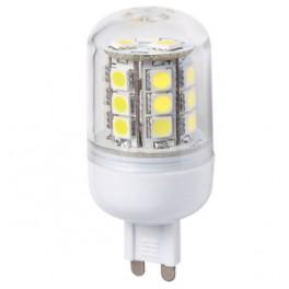 LED G9 24×5050 3,8W SMD EPISTAR teplá biela