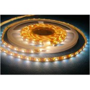 LED pásik 9,6W/1m, 12V, 5m, IP65, biela,vodeodolný