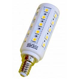 LED žiarovka E14 36×5050 6W SMD EPISTAR teplá biela