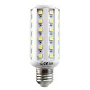 LED žiarovka E27 54×5050 9W SMD EPISTAR teplá bílá