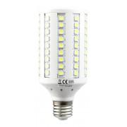 LED žiarovka E27 72×5050 13W SMD EPISTAR teplá biela