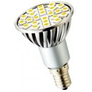 Bodová LED žiarovka E14 24×5050 3,5W SMD EPISTAR teplá biela